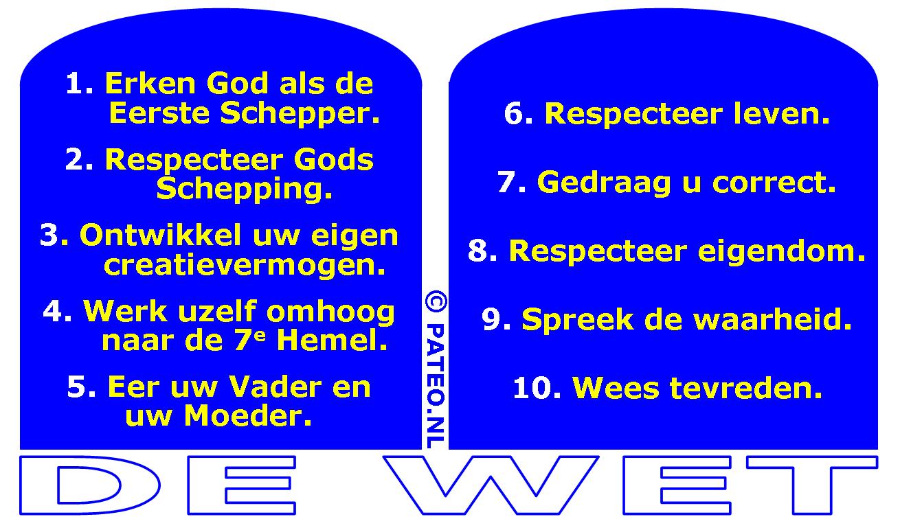 Super De Oorspronkelijke Tien Geboden WV25