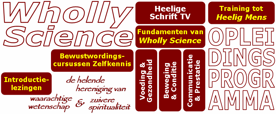 Opleidingsprogramma van Wholly Science